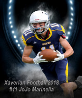 Xaverian Brothers High School Football 2018 #11 JoJo Marinella