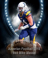 Xaverian Brothers High School Football 2018 #44 Mike Masse