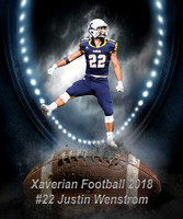 Xaverian Brothers High School Football 2018 #22 Justin Wenstrom