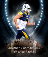 Xaverian Brothers High School Football 2018 #5 Mike Saliba