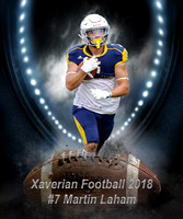 Xaverian Brothers High School Football 2018 #7 Martin Laham
