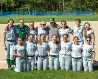 Nashoba JV Softball vs No. Middlesex 5/13/15