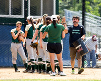 Nashoba Varsity Softball vs. Doherty MIAA District Tournament  6/5/15