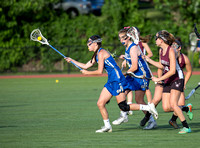 Girls' Lacrosse Groton-Dunstable @ Norwell (MIAA Div 2 State Semifinal) 6/14/16